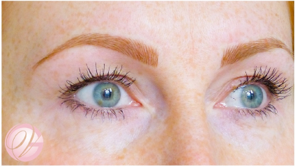 Discreetly Subtle Brow Treatment tailored to suit our fairer clients.